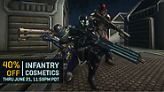 Celebrate Father's Day Weekend with 40% off all Infantry Cosmetics!