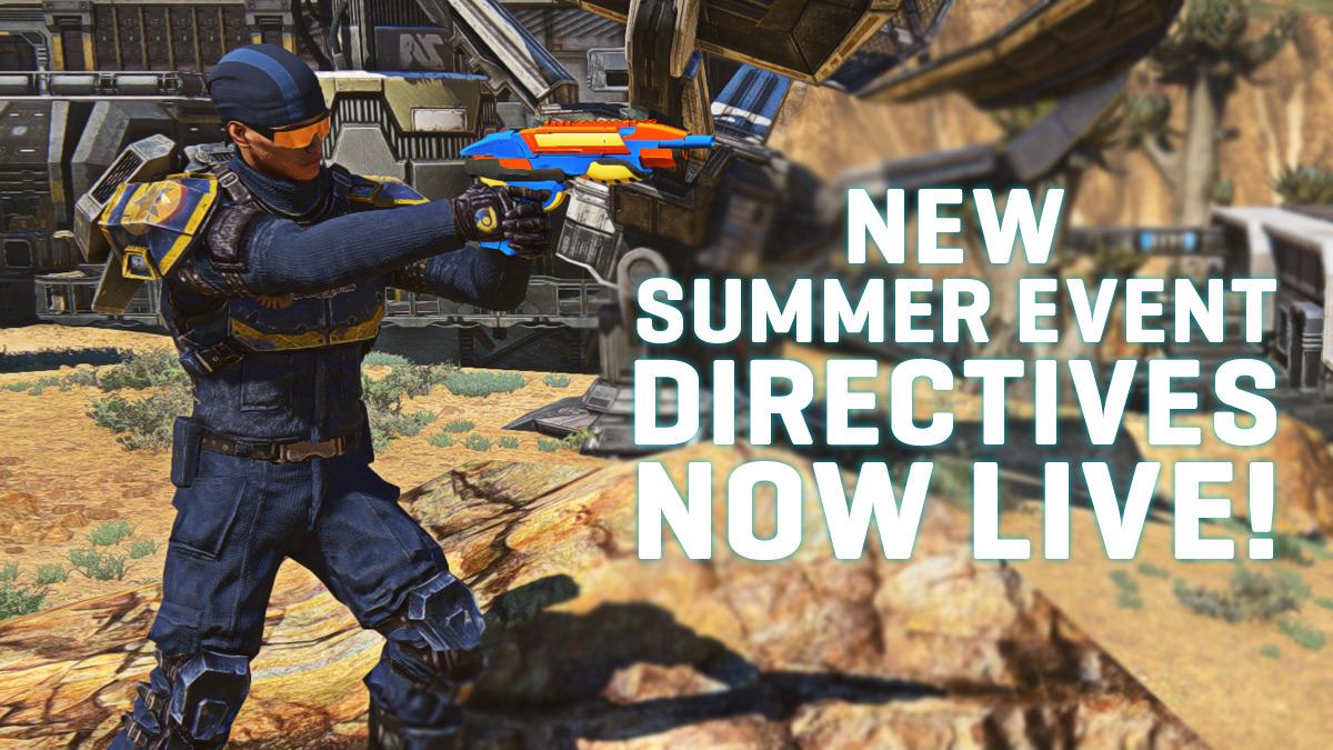 Planetside 2 Summer Directive