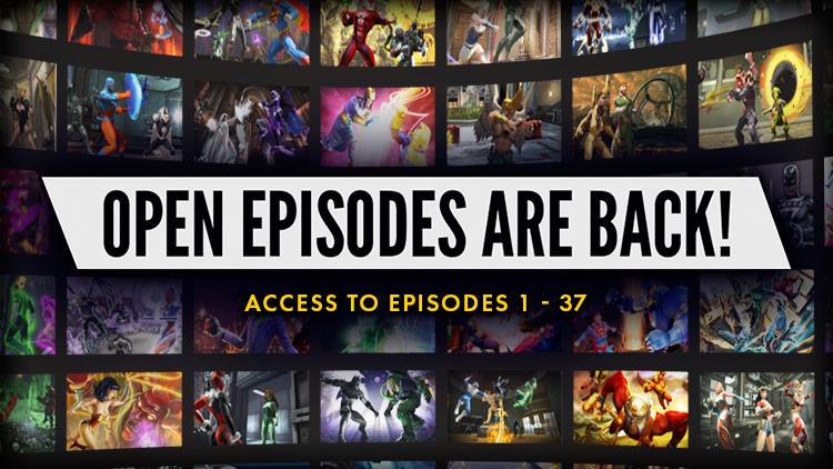 Open Episodes & Bonus Weeks - Extended!