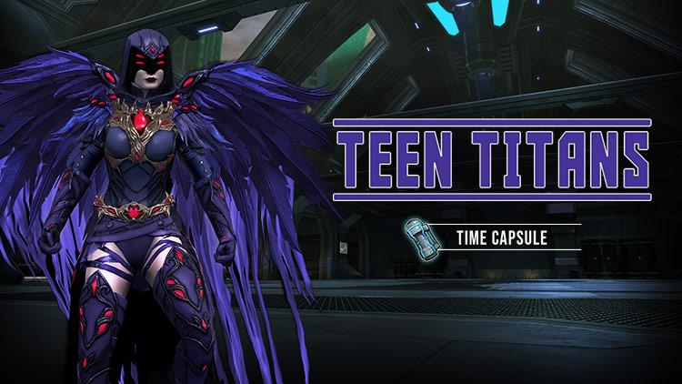 Teen Titans Time Capsule