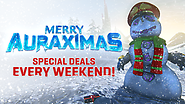 Merry Auraximas! Celebrate the Holidays with 4 weeks of Festive Deals.