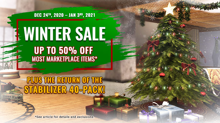 The DCUO Winter Sale!