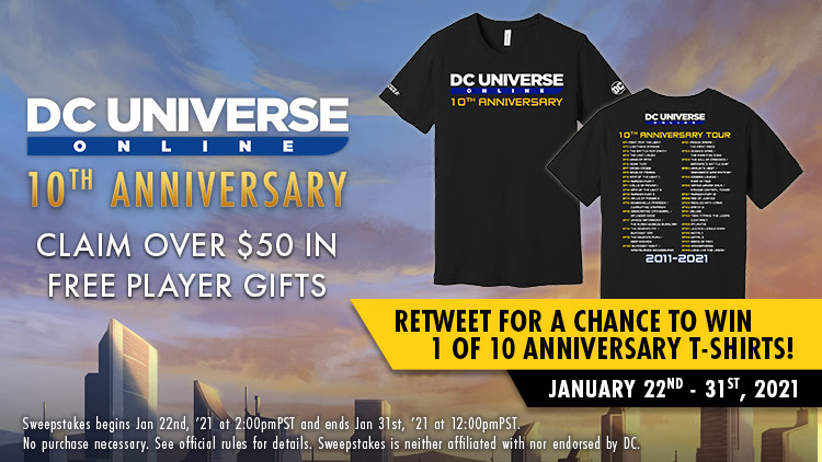 #10thAnniversary Sweepstakes!