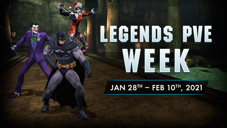 Legends PvE Extravaganza Extended!