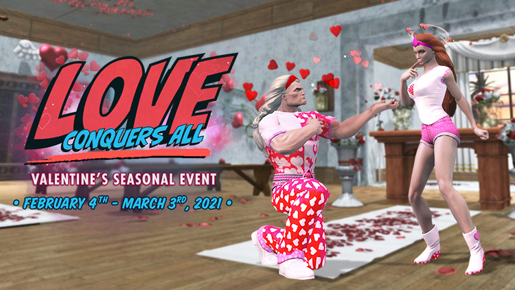 Valentine's Day Seasonal Event!