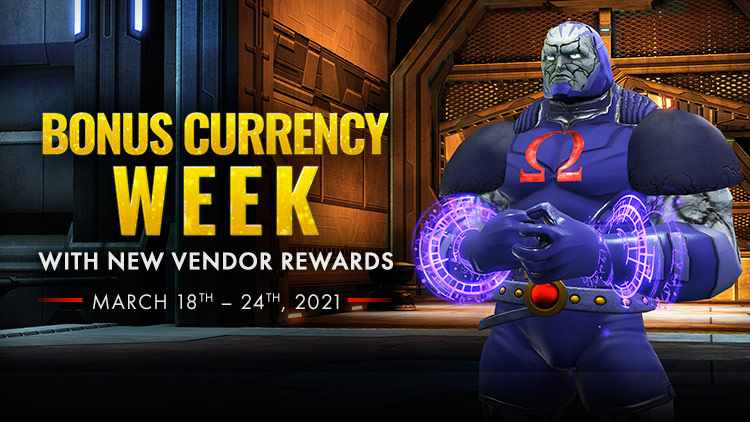 Double Currency, New Rewards, Bonus Content!