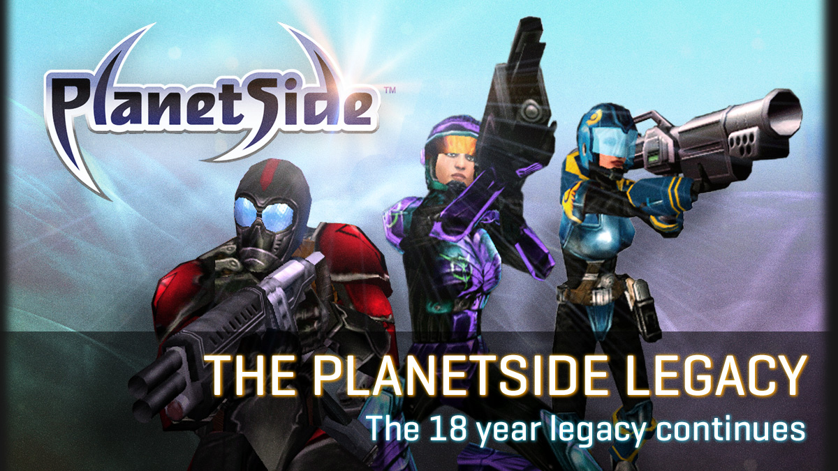 Eighteen Years of PlanetSide