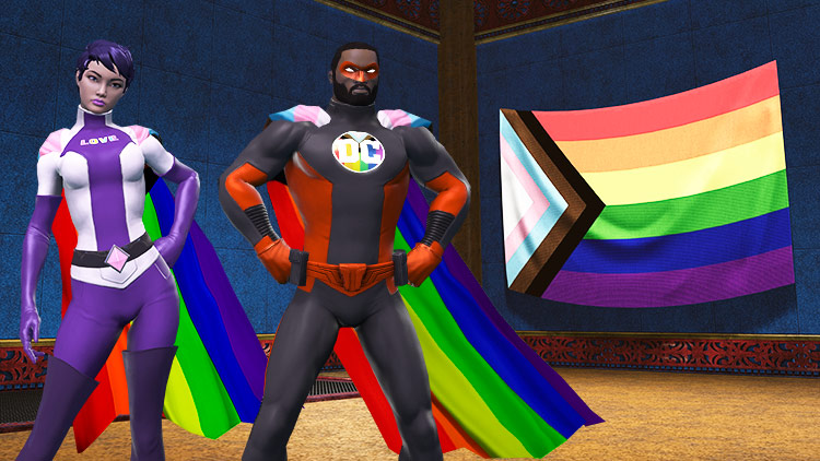 Celebrate Pride in DCUO!