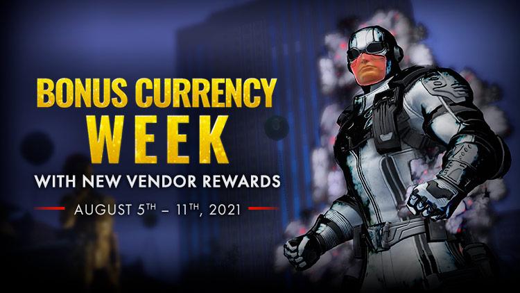 Bonus Currency and New Rewards!