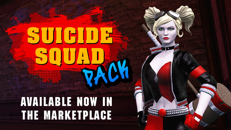 Suicide Squad Pack & Gift