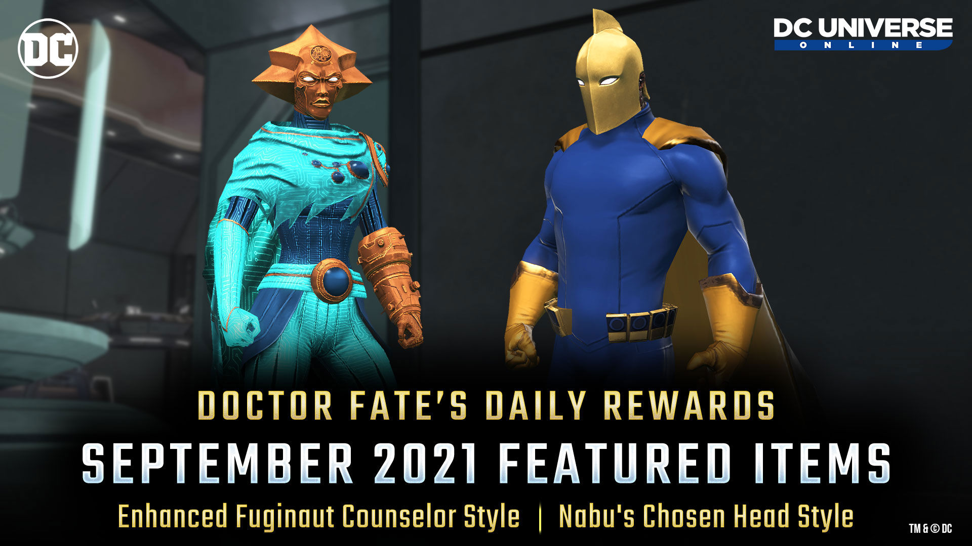 Doctor Fate's Daily Rewards - September 2021