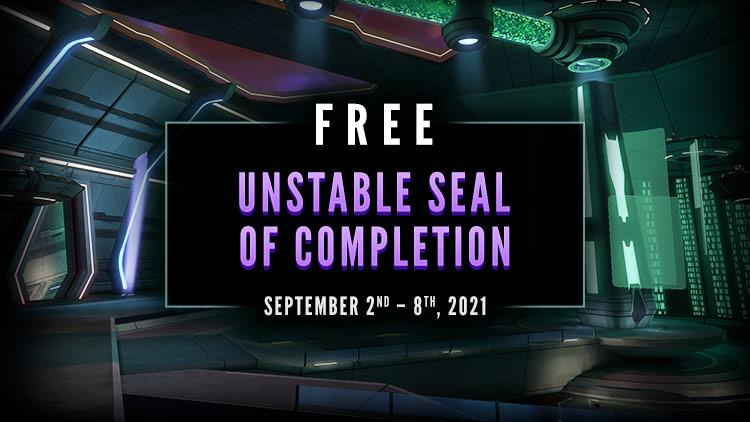 Bonus Seal of Completin