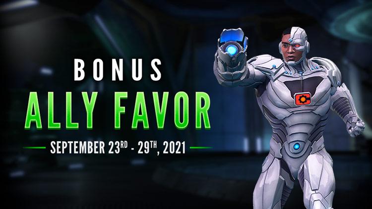 Bonus Ally Favor!